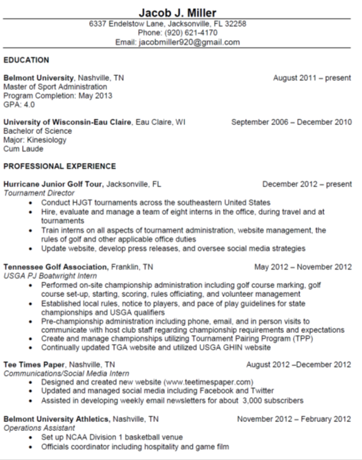 Resume jacob miller professional portfolio for How to state your salary expectations in a cover letter